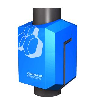 nachgeschaltener Katalysator zur Anwendung bei Festbrennstoffkesseln
