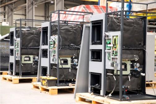 Alle NMT-Heizkessel werden am Standort in Großenhain einer umfangreichen Qualitätskontrolle unterzogen.