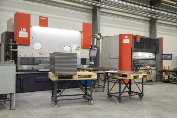 Die Serienfertigung aller NMT-Heizkessel erfolgt an modernen Produktionsstandorten in Krakau und Kattowitz.