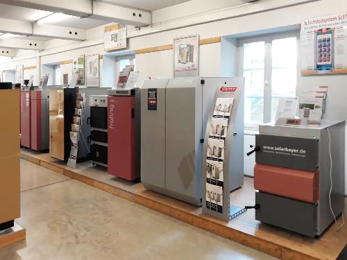 Ausstellungskessel NMT-Kombikessel HVG-PELLET IV im Technologie- und Förderzentrum im Kompetenzzentrum für Nachwachsende Rohstoffe in Straubingen